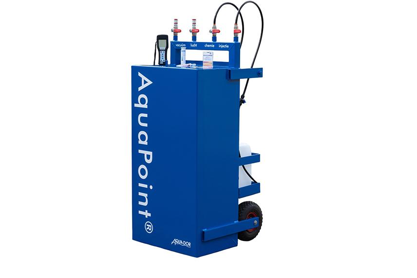 AquaPoint® multifunctionele mobiele reinigingsunit
