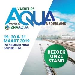 Aquador op AquaNederland Vakbeurs 2019, stand B 106