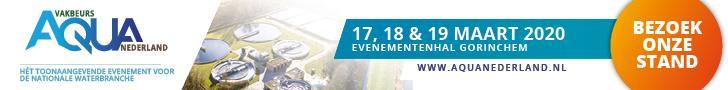 Aquador op Aqua Nederland Vakbeurs 2020, stand B 118