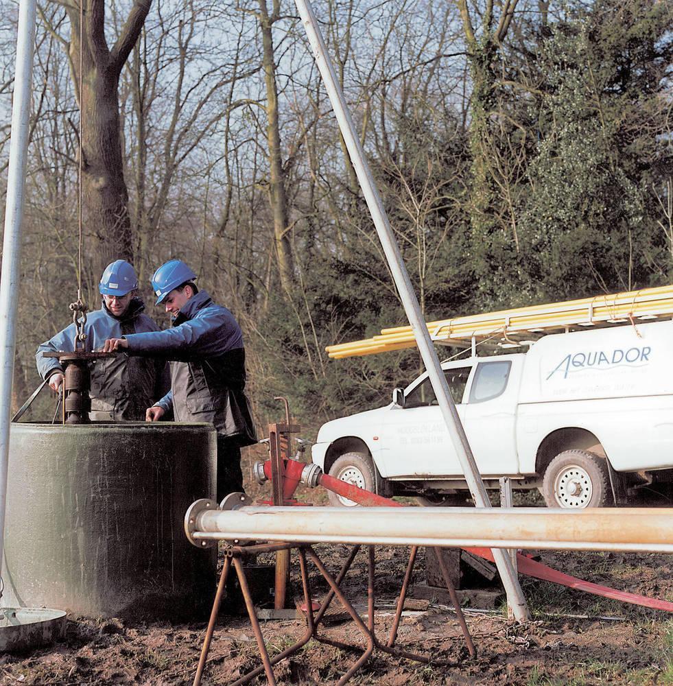Regenereren van waterwinputten met Air Comprex